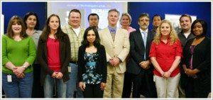 Dr. Marotta with Mannatech's R&D Team