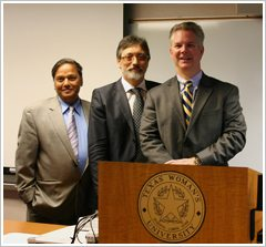 Dr. Chandan Prasad, Dr. Francesco Marotta and Dr. Rob Sinnott
