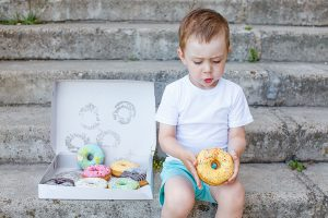 child-donut